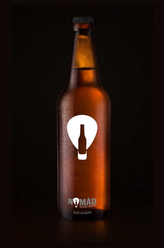 Nomad beer bottle