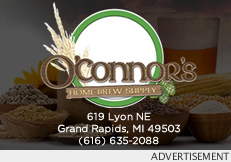OConnors Homebrew Supply, 619 Lyon, Grand Rapids