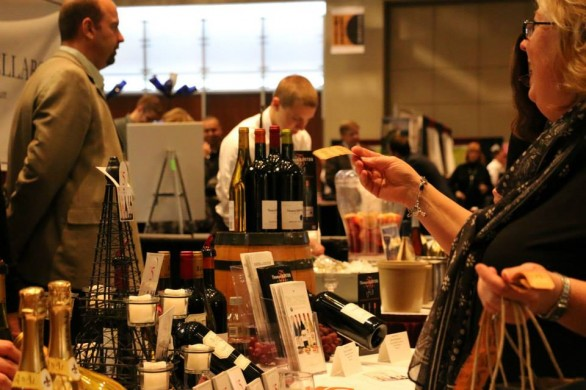 Grand Rapids wine, beer and food festival 2014